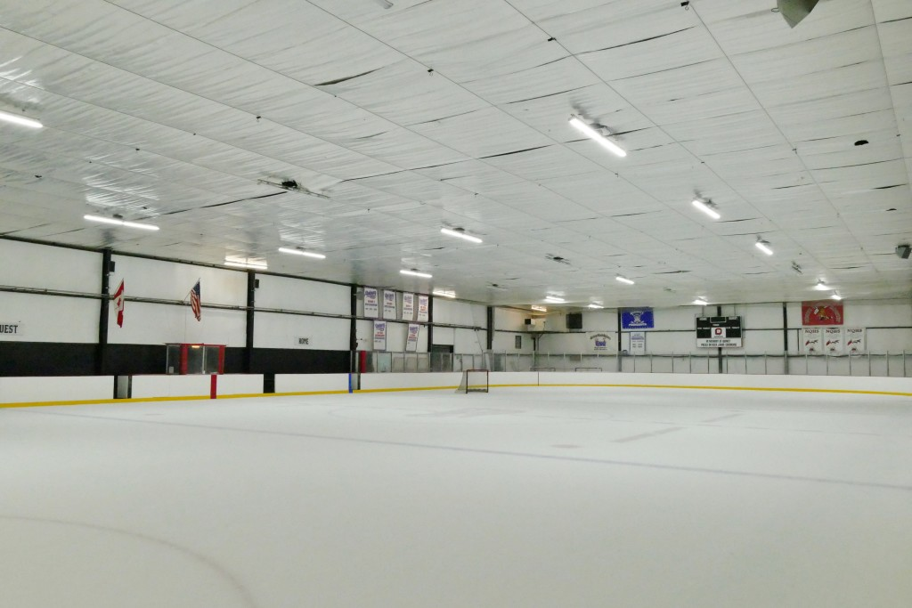 Quincy Youth Hockey Arena After