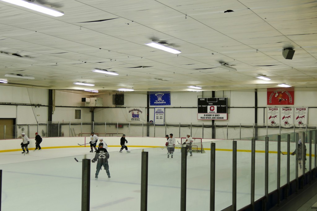 Quincy Youth Hockey Arena Before
